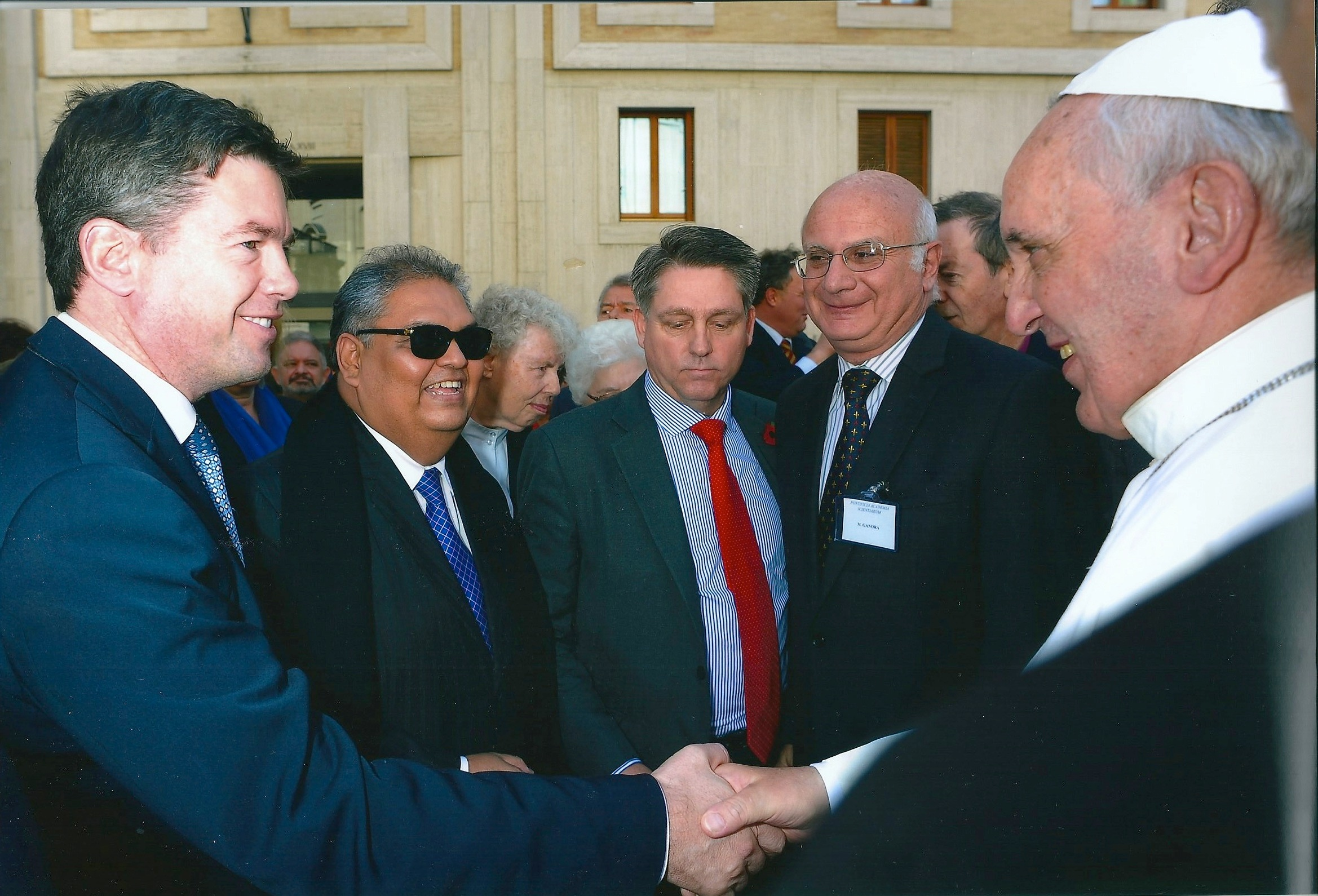 Nick Grono meeting with Pope Francis 1 November 2013